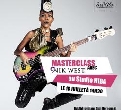 Masterclass avec Nik West