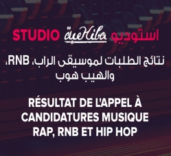 Résultat de l'appel  à candidatures musique : Rap, Rnb & Hip Hop