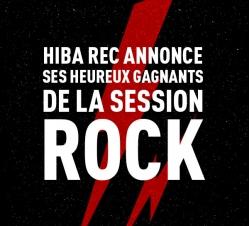 Gagnants Hiba Rec Rock